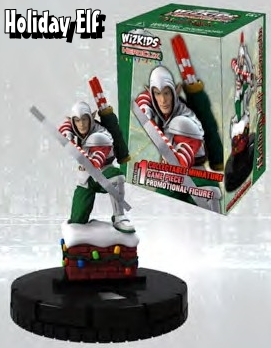 Seasonal HeroClix Figures - Holiday Elf