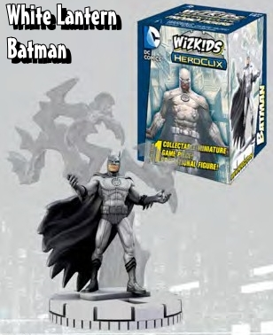 Seasonal HeroClix Figures - White Lantern Batman