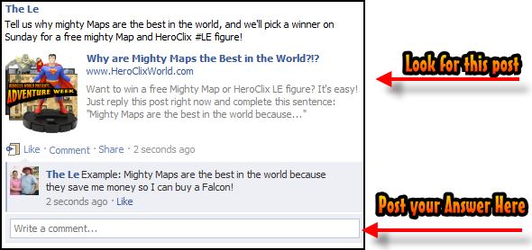 Mighty Maps Facebook