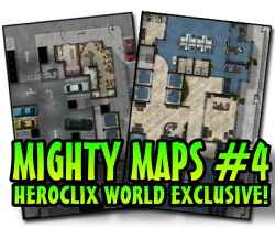 HeroClix Mighty Map #4