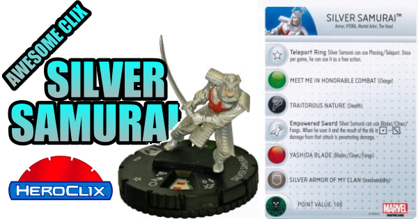 Awesome Clix: Silver Samurai