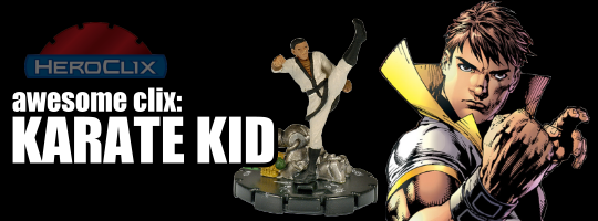 Awesome Clix: Karate Kid