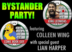 HeroClix World Bystander Party: Colleen Wing