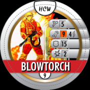 HeroClix World Bystander Blowtorch
