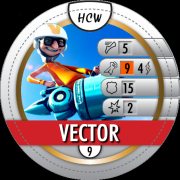 HeroClix World Bystander Vector