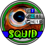 Squid HeroClix Bystandner Token