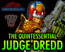 The Quintessential Judge Dredd HeroClix Dial
