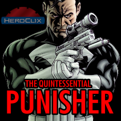 The Quintessential Punisher HeroClix Dial