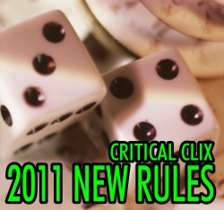 HeroClix Critical Clix: 2011 New Rules
