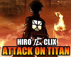 Attack on Titan HeroClix Dial hiroClix