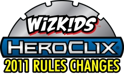 HeroClix Rules Changes 2011