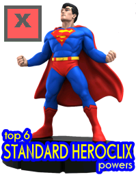 Top 6 HeroClix Standard Powers