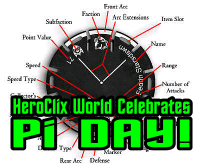 Happy Pi Day HeroClix World
