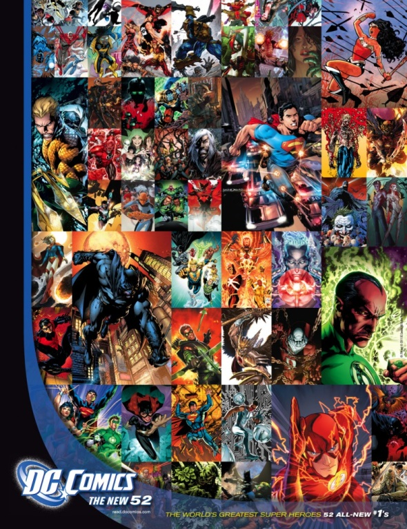 DC The New 52 Poster