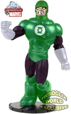 HeroClix Sentinel Green Lantern Convention Exclusive
