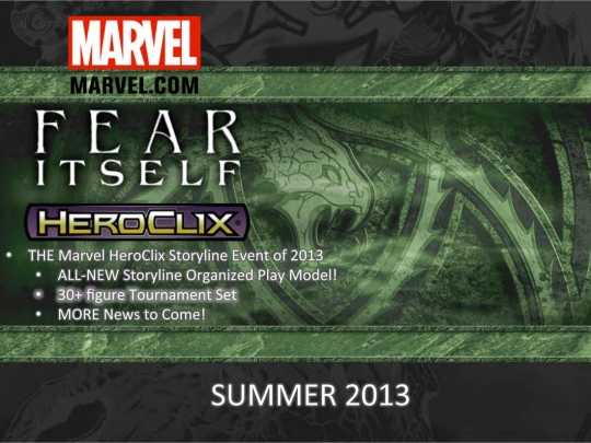 Marvel HeroClix Fear Itself