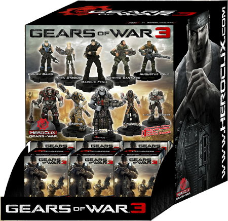 Gears of War 3 Gravity Feed HeroClix