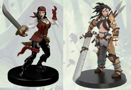 Shattered Star Figures Pathfinder