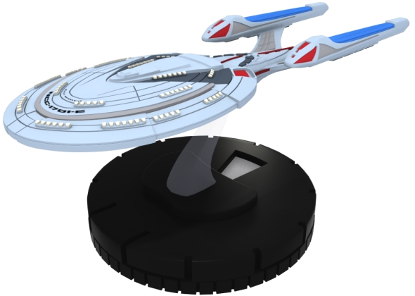 Star Trek HeroClix Tactics Federation Ship