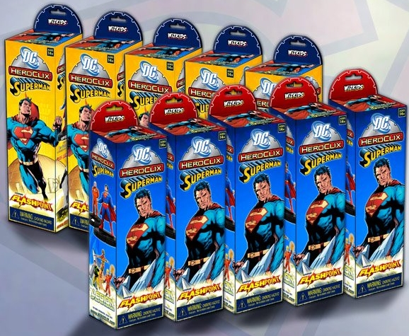 HeroClix Superman Boosters
