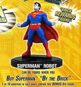 HeroClix Superman Brick Figure