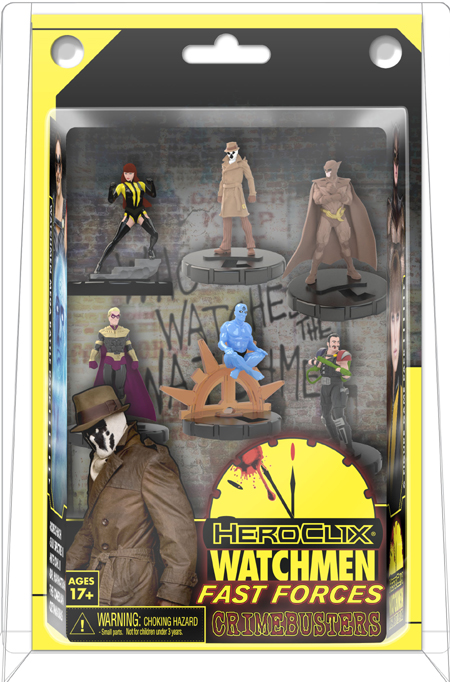 HeroClix Watchmen Fast Forces