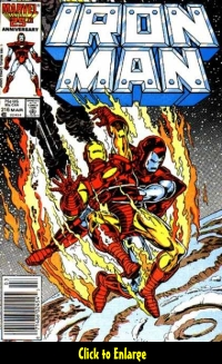 Top 10 Iron Man covers