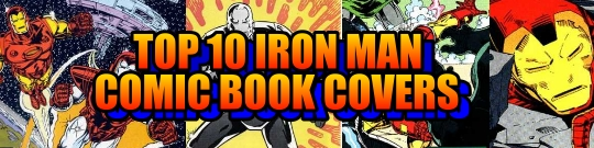 Top 10 Iron Man Comic Book Covers