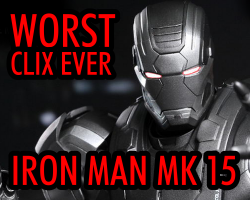 HeroClix World - Worst Clix Ever - Iron Man Mark 15
