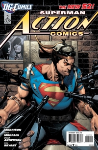 Action Comics #2 Review (HeroClix World)