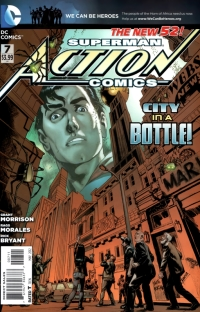 Action Comics #7 Review (cover)