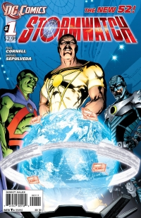 Stormwatch #1 Review (DC New 52)