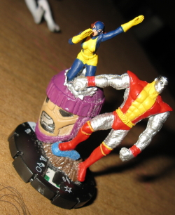 HeroClix Colussus The Le Custom