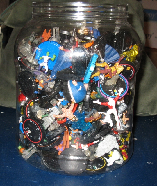 HeroClix Jar of Clix