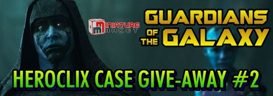 HeroClix Guardians of the Galaxy Miniature Market Give-Away #2