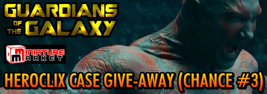 HeroClix Miniature Market Guardians of the Galaxy HeroClix-Case Give-Away! (#3)