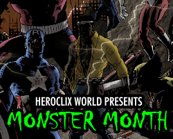 HeroClix World Monster Month 2014