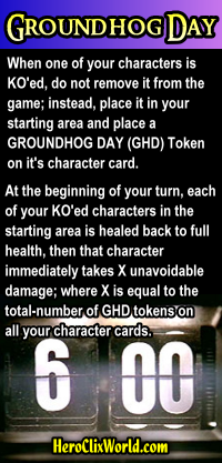 HeroClix Groundhog Day